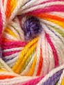 Fiber Content 100% Premium Acrylic, Yellow, White, Pink, Orange, Lilac, Brand ICE, Green, Yarn Thickness 3 Light  DK, Light, Worsted, fnt2-33399