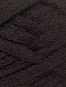 Fiber Content 50% Wool, 50% Acrylic, Brand ICE, Dark Brown, Yarn Thickness 6 SuperBulky  Bulky, Roving, fnt2-33499