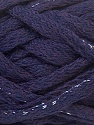 Fiber Content 45% Acrylic, 45% Wool, 10% Lurex, Silver, Purple, Brand ICE, Yarn Thickness 6 SuperBulky  Bulky, Roving, fnt2-33505
