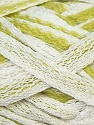 Fiber Content 50% Cotton, 50% Acrylic, White, Brand ICE, Green, Yarn Thickness 6 SuperBulky  Bulky, Roving, fnt2-33523