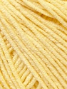 Fiber Content 50% Cotton, 50% Acrylic, Brand ICE, Baby Yellow, Yarn Thickness 3 Light  DK, Light, Worsted, fnt2-33565