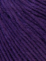 Fiber Content 50% Cotton, 50% Acrylic, Brand ICE, Dark Purple, Yarn Thickness 3 Light  DK, Light, Worsted, fnt2-33566