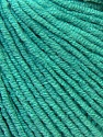 Fiber Content 50% Acrylic, 50% Cotton, Brand ICE, Emerald Green, Yarn Thickness 3 Light  DK, Light, Worsted, fnt2-33568