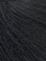 Fiber Content 70% Royal Baby Alpaca, 20% Nylon, 10% Merino Wool, Brand ICE, Black, Yarn Thickness 4 Medium  Worsted, Afghan, Aran, fnt2-33636