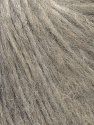 Fiber Content 70% Royal Baby Alpaca, 20% Nylon, 10% Merino Wool, Light Grey, Brand ICE, Yarn Thickness 4 Medium  Worsted, Afghan, Aran, fnt2-33679