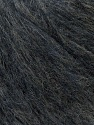 Fiber Content 34% Acrylic, 25% SuperKid Mohair, 23% Nylon, 18% Merino Wool, Brand ICE, Dark Grey, Yarn Thickness 4 Medium  Worsted, Afghan, Aran, fnt2-33753