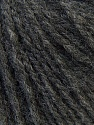Fiber Content 50% Acrylic, 25% Merino Wool, 25% Alpaca, Brand ICE, Dark Grey, Yarn Thickness 3 Light  DK, Light, Worsted, fnt2-33805