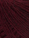 Fiber Content 60% Acrylic, 20% Wool, 10% Polyamide, 10% Mohair, Brand ICE, Burgundy, Yarn Thickness 2 Fine  Sport, Baby, fnt2-33926