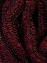 Fiber Content 90% Acrylic, 5% Polyamide, 5% Wool, Brand ICE, Burgundy, Yarn Thickness 6 SuperBulky  Bulky, Roving, fnt2-34053
