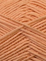 Fiber Content 67% Cotton, 33% Polyester, Light Salmon, Brand ICE, Yarn Thickness 2 Fine  Sport, Baby, fnt2-34097