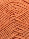 Fiber Content 67% Cotton, 33% Polyester, Salmon, Brand ICE, Yarn Thickness 2 Fine  Sport, Baby, fnt2-34100