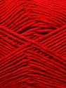 Fiber Content 50% Bamboo, 25% Cotton, 25% Dralon, Red, Brand ICE, Yarn Thickness 2 Fine  Sport, Baby, fnt2-34211