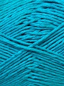 Fiber Content 50% Bamboo, 25% Cotton, 25% Dralon, Turquoise, Brand ICE, Yarn Thickness 2 Fine  Sport, Baby, fnt2-34216