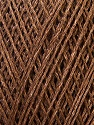 Fiber Content 100% Flax, Brand ICE, Brown, Yarn Thickness 2 Fine  Sport, Baby, fnt2-34272