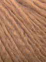 Fiber Content 50% Wool, 40% Acrylic, 10% Alpaca, Light Brown, Brand ICE, Yarn Thickness 4 Medium  Worsted, Afghan, Aran, fnt2-34419