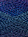 Fiber Content 75% Acrylic, 25% Wool, Purple Shades, Brand ICE, Yarn Thickness 3 Light  DK, Light, Worsted, fnt2-34600
