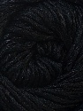 Fiber Content 70% Cotton, 30% Polyamide, Brand ICE, Black, Yarn Thickness 2 Fine  Sport, Baby, fnt2-34638
