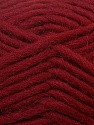 Perfect for felting in the washing machine. Shrinkage about 30%-40% İçerik 100% Yeni Yün, Brand ICE, Dark Red, Yarn Thickness 5 Bulky  Chunky, Craft, Rug, fnt2-34695