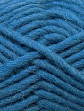 Perfect for felting in the washing machine. Shrinkage about 30%-40% İçerik 100% Yeni Yün, Jeans Blue, Brand ICE, Yarn Thickness 5 Bulky  Chunky, Craft, Rug, fnt2-34696