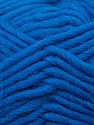 Perfect for felting in the washing machine. Shrinkage about 30%-40% İçerik 100% Yeni Yün, Brand ICE, Blue, Yarn Thickness 5 Bulky  Chunky, Craft, Rug, fnt2-34697