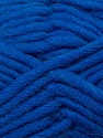 Perfect for felting in the washing machine. Shrinkage about 30%-40% İçerik 100% Yeni Yün, Royal Blue, Brand ICE, Yarn Thickness 5 Bulky  Chunky, Craft, Rug, fnt2-34698