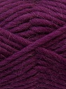 Perfect for felting in the washing machine. Shrinkage about 30%-40% İçerik 100% Yeni Yün, Purple, Brand ICE, Yarn Thickness 5 Bulky  Chunky, Craft, Rug, fnt2-34702