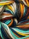 Fiber Content 100% Wool, Yellow, Turquoise, Khaki, Brand ICE, Brown, Blue, Yarn Thickness 3 Light  DK, Light, Worsted, fnt2-34731