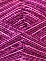 Fiber Content 100% Mercerised Cotton, Pink Shades, Maroon, Brand ICE, Yarn Thickness 2 Fine  Sport, Baby, fnt2-34759
