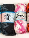 Please note that the weight and yardage information for this lot is approximate Scarf Yarns, Brand ICE, Yarn Thickness 6 SuperBulky  Bulky, Roving, fnt2-34768