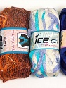Please note that the weight and yardage information for this lot is approximate Scarf Yarns, Brand ICE, Yarn Thickness 6 SuperBulky  Bulky, Roving, fnt2-34771