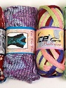Please note that the weight and yardage information for this lot is approximate Scarf Yarns, Brand ICE, Yarn Thickness 6 SuperBulky  Bulky, Roving, fnt2-34776