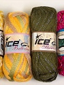 Please note that the weight and yardage information for this lot is approximate Scarf Yarns, Brand ICE, Yarn Thickness 6 SuperBulky  Bulky, Roving, fnt2-34777