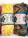 Please note that the weight and yardage information for this lot is approximate Scarf Yarns, Brand ICE, Yarn Thickness 6 SuperBulky  Bulky, Roving, fnt2-34780
