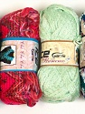 Please note that the weight and yardage information for this lot is approximate Scarf Yarns, Brand ICE, Yarn Thickness 6 SuperBulky  Bulky, Roving, fnt2-34782