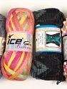 Please note that the weight and yardage information for this lot is approximate Scarf Yarns, Brand ICE, Yarn Thickness 6 SuperBulky  Bulky, Roving, fnt2-34783