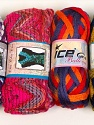 Please note that the weight and yardage information for this lot is approximate Scarf Yarns, Brand Ice Yarns, Yarn Thickness 6 SuperBulky  Bulky, Roving, fnt2-34784