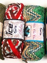 Please note that the weight and yardage information for this lot is approximate Scarf Yarns, Brand Ice Yarns, Yarn Thickness 6 SuperBulky  Bulky, Roving, fnt2-34787