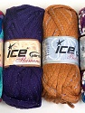 Please note that the weight and yardage information for this lot is approximate Scarf Yarns, Brand ICE, Yarn Thickness 6 SuperBulky  Bulky, Roving, fnt2-34804