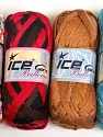 Please note that the weight and yardage information for this lot is approximate Scarf Yarns, Brand ICE, Yarn Thickness 6 SuperBulky  Bulky, Roving, fnt2-34805
