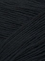 Fiber Content 34% Cotton, 33% Acrylic, 33% Polyamide, Brand ICE, Black, Yarn Thickness 3 Light  DK, Light, Worsted, fnt2-34871