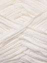 Fiber Content 50% Acrylic, 50% Cotton, White, Brand ICE, Yarn Thickness 3 Light  DK, Light, Worsted, fnt2-34901