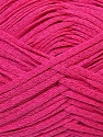 Fiber Content 50% Acrylic, 50% Cotton, Brand ICE, Fuchsia, Yarn Thickness 3 Light  DK, Light, Worsted, fnt2-34915