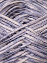 Fiber Content 50% Acrylic, 50% Cotton, White, Lilac, Brand ICE, Yarn Thickness 3 Light  DK, Light, Worsted, fnt2-34924