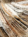 Fiber Content 50% Polyester, 50% Polyamide, White, Yarn Thickness Other, Brand ICE, Camel, Brown, fnt2-34970