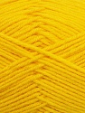 Fiber Content 50% Polyamide, 50% Acrylic, Yellow, Brand ICE, Yarn Thickness 2 Fine  Sport, Baby, fnt2-34992