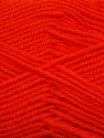 Fiber Content 50% Acrylic, 50% Polyamide, Orange, Brand ICE, Yarn Thickness 2 Fine  Sport, Baby, fnt2-34993