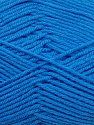 Fiber Content 50% Polyamide, 50% Acrylic, Brand ICE, Blue, Yarn Thickness 2 Fine  Sport, Baby, fnt2-34997