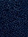 Fiber Content 50% Polyamide, 50% Acrylic, Navy, Brand ICE, Yarn Thickness 2 Fine  Sport, Baby, fnt2-34998