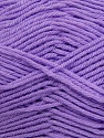 Fiber Content 50% Polyamide, 50% Acrylic, Lilac, Brand ICE, Yarn Thickness 2 Fine  Sport, Baby, fnt2-34999