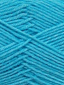 Fiber Content 50% Polyamide, 50% Acrylic, Turquoise, Brand ICE, Yarn Thickness 2 Fine  Sport, Baby, fnt2-35005